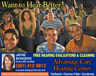 Free Hearing Evaluations & Cleaning