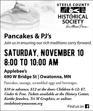 Pancakes & PJ's