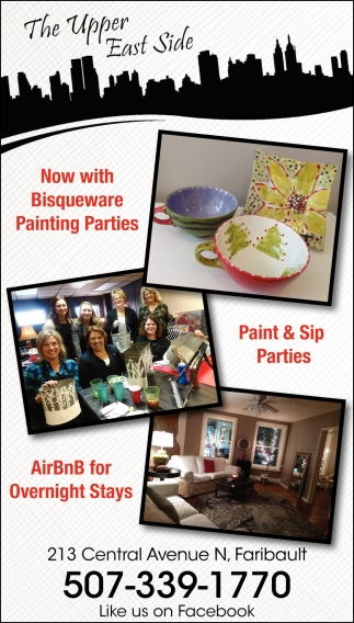Now with Bisqueware Painting Parties