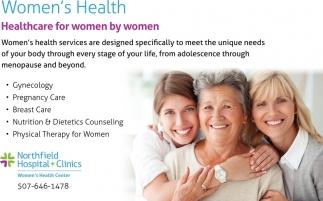 Healthcare for women by women