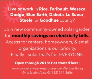 Finally - solar that's for Everyone
