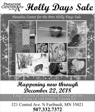 Holly Days Sale