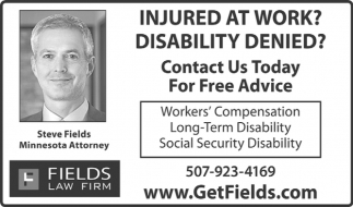 Workers Compensation, Long-Term Disability, Social Secury Disability