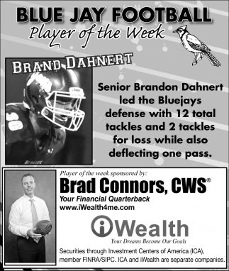 Player of the Week - Brand Dahnert