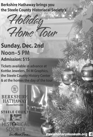 Holiday Home Tour Dec. 2nd