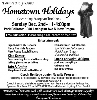 Hometown Holidays, Dec. 2nd