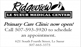 Primary Care Clinic now open!