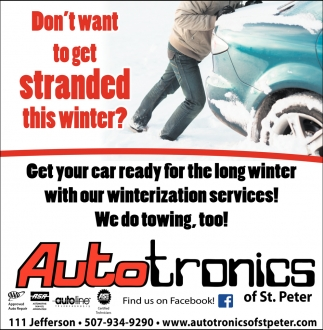 Don't want to get stranded this winter?