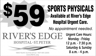 $59 Sports Physicals