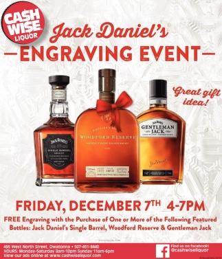 Jack Daniel's - Engraving Event