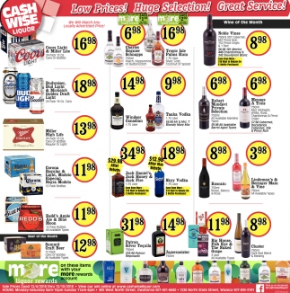 Low Prices! Huge Selection! Great Service!