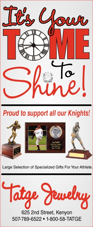 Proud to support all your Knights