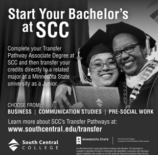 Start Your Bachelors's at SCC