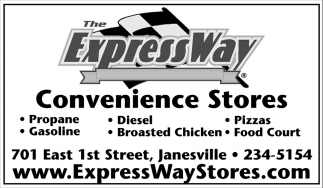 Convenience Stores, The Express Way, Janesville, MN
