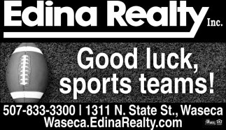 Good luck, sports teams!