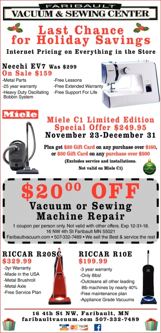 Last Chance for Holiday Savings