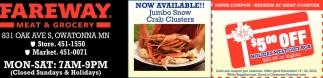 Jumbo Snow Crab Clusters