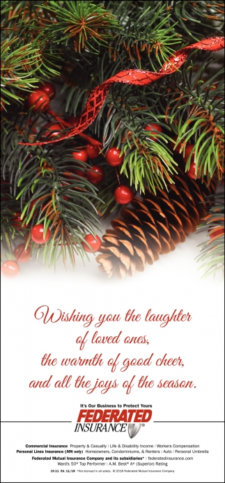 Wishing You the Laughter of Loved Ones...