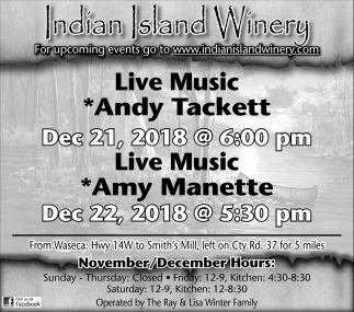 Live Music Andy Tackett/Amy Manette