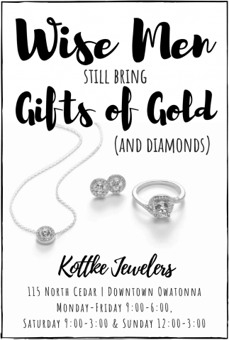 Wise Men Still Bring Gifts of Gold (And Diamonds)