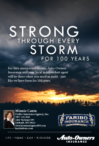 STRONG THROUGH EVERY STORM FOR 100 YEARS