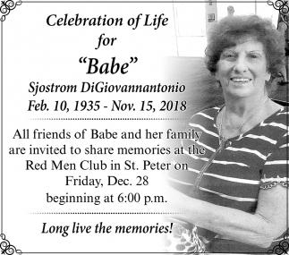 Babe Memorial