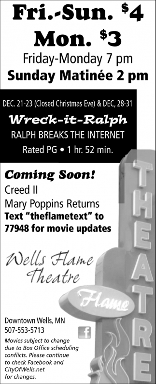 Film Listing