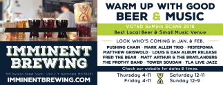 Warm Up with Good Beer & Music