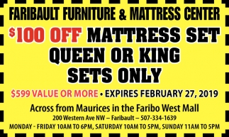 Coupon - Mattress Sets