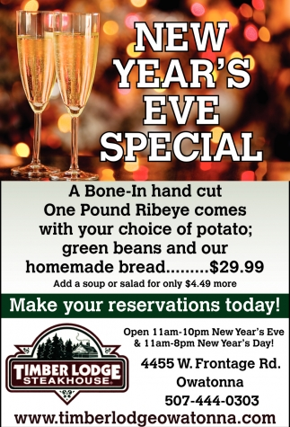 New Year's Eve Special