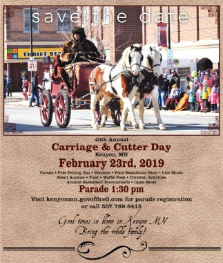 40th Annual Carriage and Cutter Day