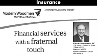 Financial Services with a Fraternal Touch