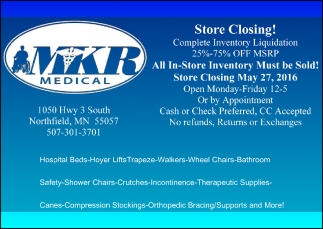 Store Closing!