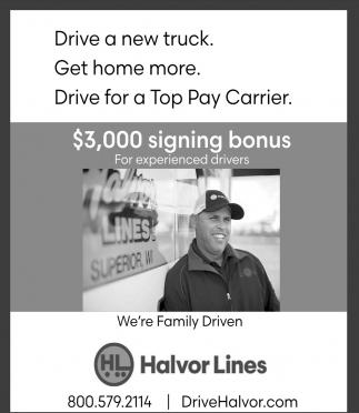 Drive a New Truck