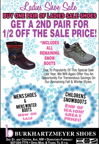 Ladies Shoe Sale