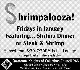 Shrimpalooza!