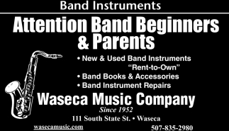 Attention Band Beginners & Parents