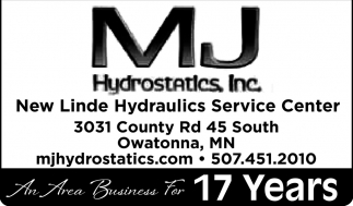 An Area Business For 17 Years