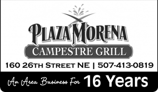 An Area Business For 16 Years