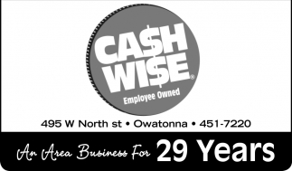 An Area Business For 29 Years