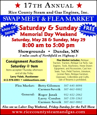 SWAP MEET AND FLEA MARKET