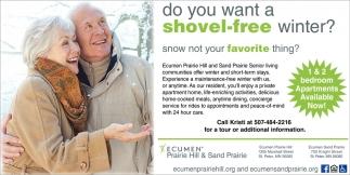 Do You Want a Shovel-Free Winter?