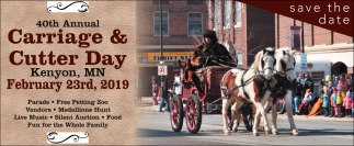 40th Annual Carriage & Cutter Day