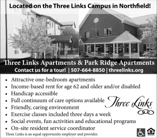 Located on the Three Links Campus in Northfield!
