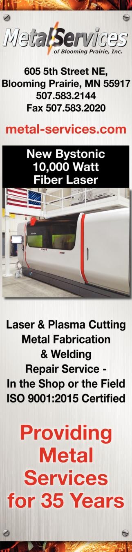 New Bystonic 10,000 Watt, Fiber Laser