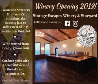 Winery Opening 2019