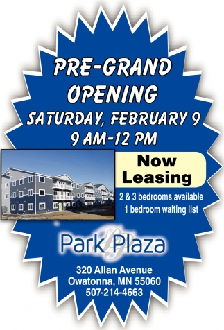 Pre-Grand Opening February 9