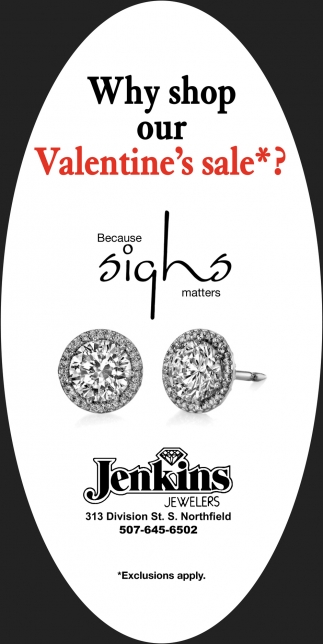 Why shop our Valentine's sale*?