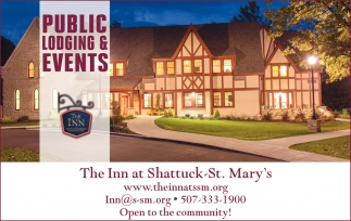 Public Lodging & Events