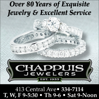 Exquisite Jewelry & Excellent Service, Chappuis Jewelry, Faribault, MN